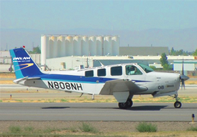 bonanza aircraft pilot school flight training